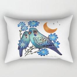 Sweet Chicory Rectangular Pillow