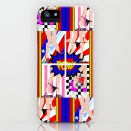 KA POW iPhone Case