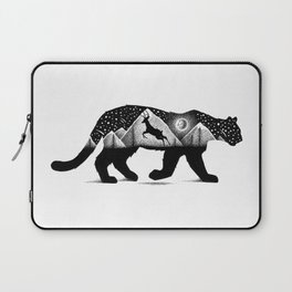 THE MOUNTAIN LION AND THE DEER Laptop Sleeve