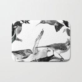 A Volery of Birds Bath Mat