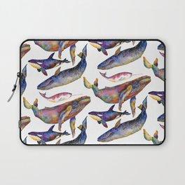 Whale Pyramid #2 Laptop Sleeve