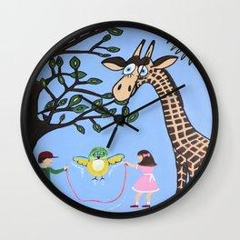 Nature's Playground Wall Clock