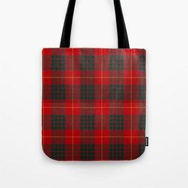 CAMERON CLAN SCOTTISH KILT TARTAN DESIGN Tote Bag
