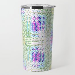 """series """"Stained glass"""" - seven colors Travel Mug"""