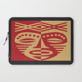 African Tribal Mask No. 3 Laptop Sleeve