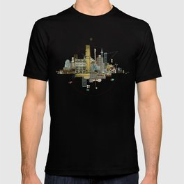 Collage City Mix 8 T-shirt