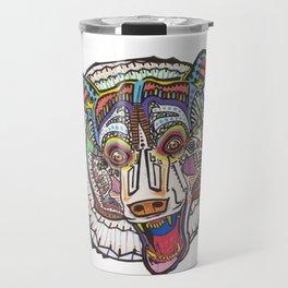 Mayan Bear Travel Mug