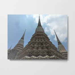 Temple to the sky Metal Print