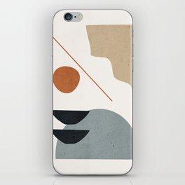 Abstract Minimal Shapes 29 iPhone Skin
