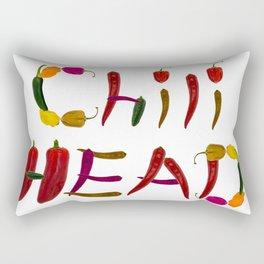 Chilihead, Chili Head - we all love chili Rectangular Pillow
