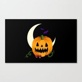 Night of the Jack O'Lantern Canvas Print