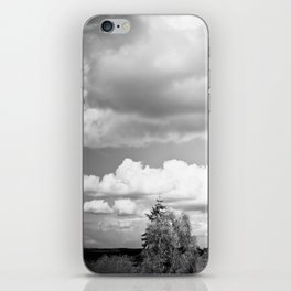 Shadow Clouds iPhone Skin