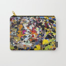 Palette. In the original sense of the word. Carry-All Pouch