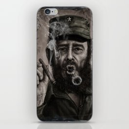 Fidel Castro iPhone Skin