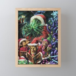 Scary Solstice Framed Mini Art Print