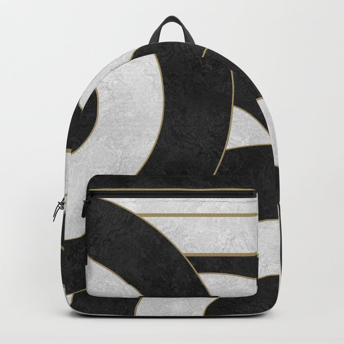 Geometric Marble 01 (abstract) Backpack