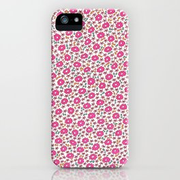 Ditsy Flora  iPhone Case