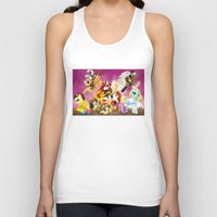 mlp Tank Tops featuring MLP X-Women by Kimball Gray