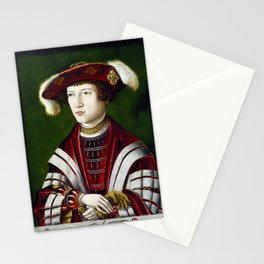 Portrait of a Nobleman Stationery Cards