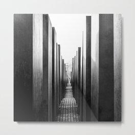 Holocaust memorial Geometry Metal Print