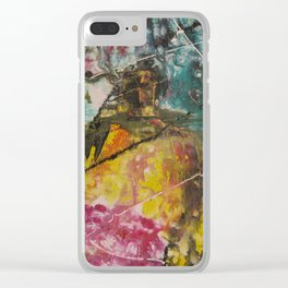 Chaotic Daydream Clear iPhone Case