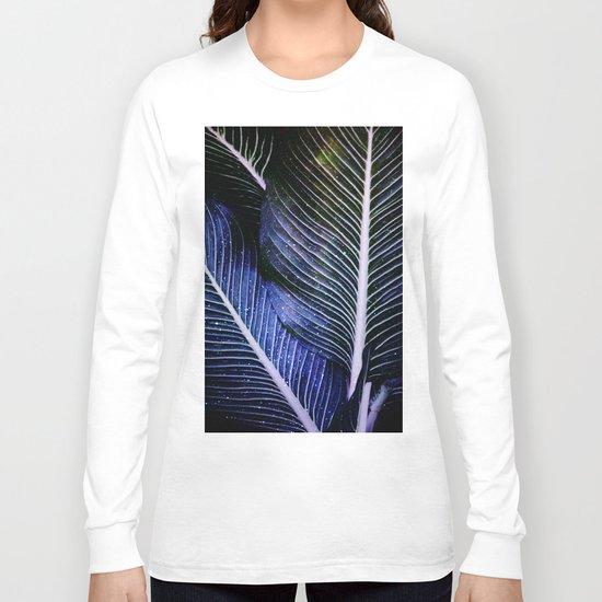 galactic leaves Long Sleeve T-shirt