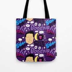 Sleepy Pattern Tote Bag