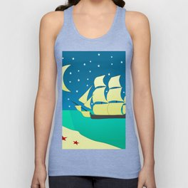 Spanish Galleon Unisex Tank Top