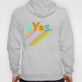 Abstraction_YES_LOVE_POP_ART_Minimalism Hoody