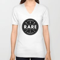 rare V-neck T-shirts featuring Rare by Taylor Shute