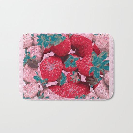 Strawberry Love (Lost Time) Bath Mat