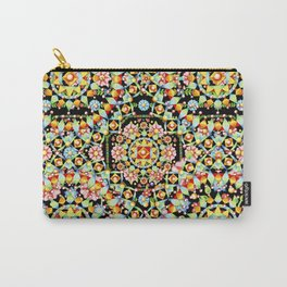 Flower Crown Bohemian Carry-All Pouch