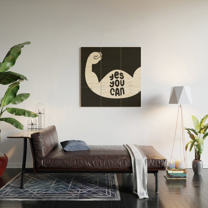Yes, you can Wood Wall Art