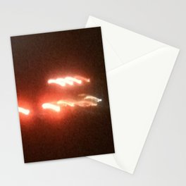 Abstracte Light Art in the Dark 19 Stationery Cards