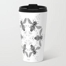 Mandala - Killer Bees Travel Mug