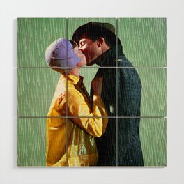 Singin' in the Rain - Green Wood Wall Art