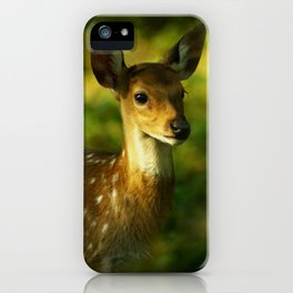 Little Bambi Deer iPhone Case