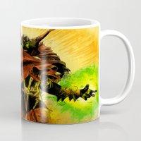 spawn Mugs featuring Hellspawn by Fresh Doodle - JP Valderrama