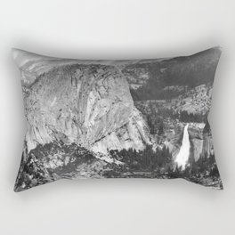 Vernal Falls and Nevada Falls in Yosemite National Park, California, 1901 Rectangular Pillow