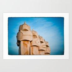 Gaudi - Barcelona, Spain Art Print