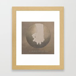 The Longing of Impossible Things.  Framed Art Print
