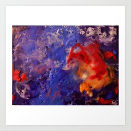 Aerial View of the Deep  Art Print
