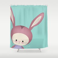 potter Shower Curtains featuring Potter by Güzel