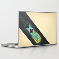 transistor Laptop & iPad Skins featuring The Transistor by Liam Ball