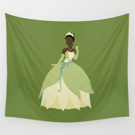 Tiana from Princess and the Frog Wall Tapestry
