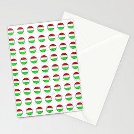 flag of hungary  5 -hungary, hungarian, magyar,Magyarország, hungria,Budapest Stationery Cards