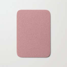 Dense Melange - White and Dark Red Bath Mat