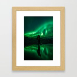 Nights of Wonder. Framed Art Print