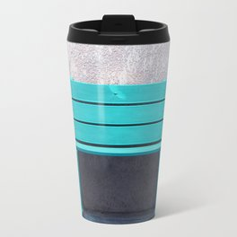 Green Bench Travel Mug