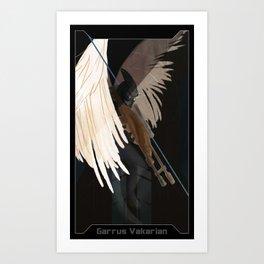 Garrus Vakarian Companion Card Art Print